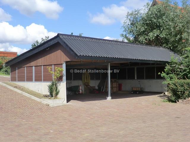 Carports With Storage Room : Storage room and carport bedaf stallenbouw bv